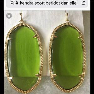 Kendra Scott Peridot Danielle Earrings